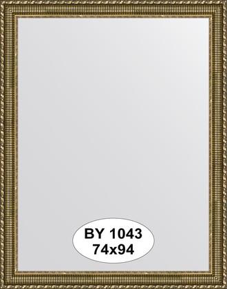 Зеркало 74x94см в багетной раме золотой акведук Evoform BY 1043