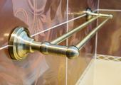 Держатель для полотенца 665мм, бронза, Bemeta 144104057