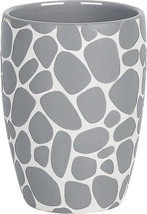 Стакан серый Spirella Darwin Pebble 1014660