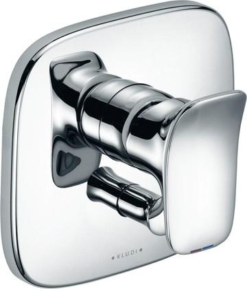 Однорычажный смеситель для ванны встраиваемый без излива, хром Kludi AMBIENTA 536500575