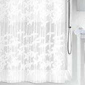 Штора для ванной Spirella Sarong, 180x200см, полиэтилен, белый 1010627
