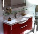 Мебель для ванной Verona, коллекция VERONA, Полка стеклянная с полкодержателями, ширина 85см, артикул VN809