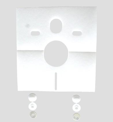 Комплект звукоизоляции для подвесных унитазов, биде 16.002.00..0000