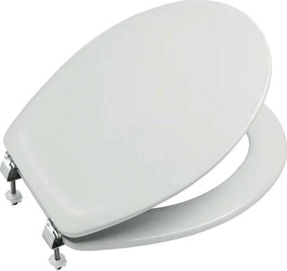 Сиденье для унитаза с крышкой, микролифт, белое Roca VICTORIA NORD ZRU9302818