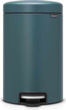 Мусорный бак с педалью 12л, минерально-лазурный Brabantia Newicon 115844