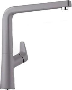 Смеситель кухонный однорычажный с высоким изливом, SILGRANIT алюметаллик Blanco AVONA 521269