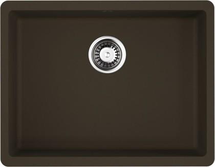 Кухонная мойка Omoikiri Kata 54-U-DC, искусственный гранит, тёмный шоколад 4993409