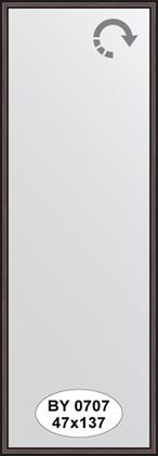 Зеркало 47x137см в багетной раме махагон Evoform BY 0707