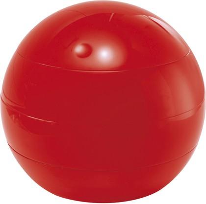Шкатулка для аксессуаров красная пластиковая Spirella Bowl Beauty 1016254