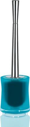 Ёрш с напольной голубой подставкой Spirella SYDNEY Clear-Acrylic 1017782