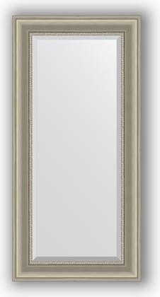 Зеркало 56x116см с фацетом 30мм в багетной раме хамелеон Evoform BY 1245