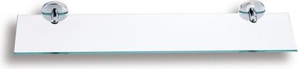Полка для ванной стеклянная прямоугольная 6х14x60см Novaservis 6140.0