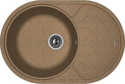 Кухонная мойка Florentina Родос, 760x510мм, коричневый 20.140.D0760.105