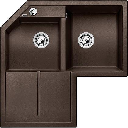 Кухонная мойка крыло слева, гранит, кофе Blanco Metra 9 Е 515573