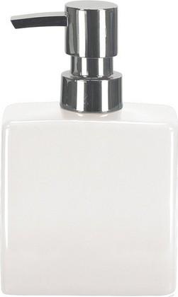 Ёмкость для жидкого мыла керамика, белый Kleine Wolke Flash 5045114849
