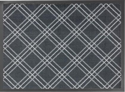 Коврик придверный 50x75см для помещения серые ромбы, полиамид Golze HOMELIKE 1676-40-10
