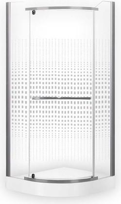 Душевой уголок Roth Austin, 80x80см, прозрачное стекло, серебро N0128