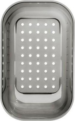 Коландер из серого пластика, 309x159x127мм Blanco 214443