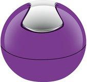 Ведро настольное 1л фиолетовое Spirella BOWL-SHINY 1014968