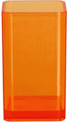 Стакан для зубных щёток оранжевый Spirella CUBO 1015288