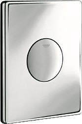 Кнопка смыва для инсталляции для унитаза, хром Grohe SKATE 37547000