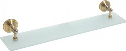 Полка стеклянная 600мм, бронза, Bemeta 144102247