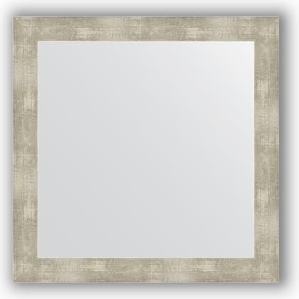 Зеркало в багетной раме 64x64см алюминий 61мм Evoform BY 3140