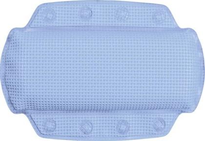 Подушка для ванны на присосках 32x23см голубая Spirella Alaska 1070525