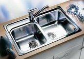 Кухонная мойка без крыла, нержавеющая сталь зеркальной полировки Blanco Classic 8 507543