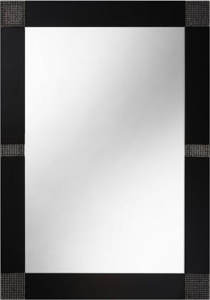 Зеркало 60x80см с чёрной окантовкой и кристаллами Swarovski Dubiel Vitrum OPUS C 5905241000978