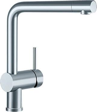 Смеситель кухонный однорычажный с высоким изливом, нержавеющая сталь полированная Blanco LINUS 517183