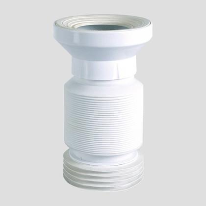 Отвод для унитаза Sanit гибкий, d100, 225-525мм 58.115.00..0000