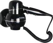 Фен для волос Connex Chrome Linie, настенный, чёрный WT-2000S1
