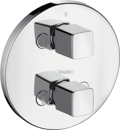 Запорный/переключающий вентиль, хром Hansgrohe Metris iControl E 31958000