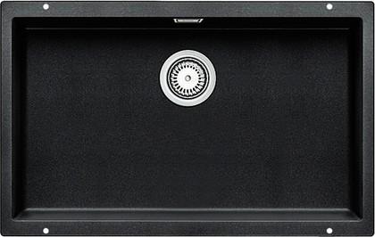 Кухонная мойка без крыла, с клапаном-автоматом, гранит, антрацит Blanco Subline 700-U 515782