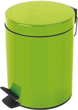 Ведро для мусора 5л зелёное Spirella Sydney 1016388