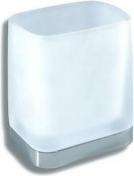 Стеклянный стакан Novaservis Metalia-4 6406.0