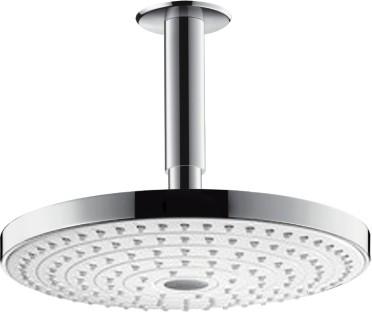 Душ верхний, 2 вида струи, хром / белый Hansgrohe Raindance Select S 240 EcoSmart 26469400