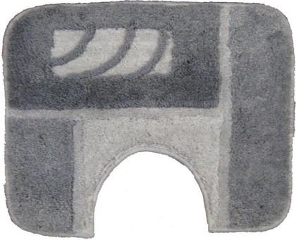 Коврик под туалет 50x40см серый Grund PALERMO WC 016.01.001