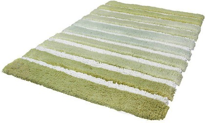 Коврик для ванной 70x120см зелёный Kleine Wolke Phoenix 4045605225