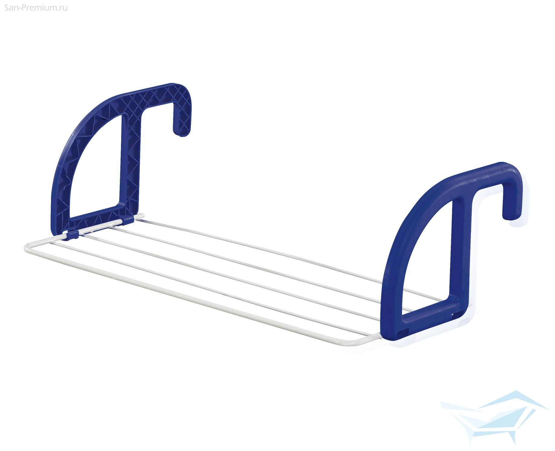 Сушилка для белья надверная, синяя leifheit 83046 - купить с.