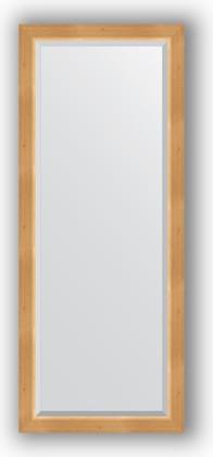Зеркало 61x151см с фацетом 30мм в багетной раме сосна Evoform BY 1183