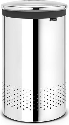 Бак для белья 60л стальной полированный Brabantia 105203