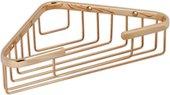 Полка для ванной угловая TW Harmony 15x15x5см, золото TWHO534oro