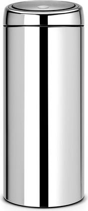 Ведро для мусора 30л сталь полированная Brabantia Touch Bin 287367