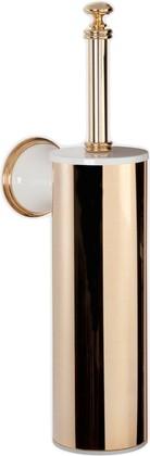 Ёрш для туалета настенный, белый/золото TW Harmony TWHA220bi/oro