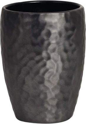 Стаканчик чёрный Spirella Darwin Hammered 1015330