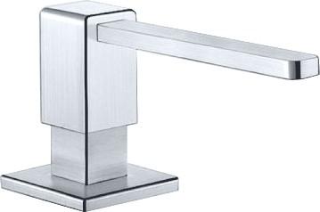 Дозатор жидкого моющего средства встраиваемый, нержавеющая сталь зеркальной полировки Blanco LEVOS 517586