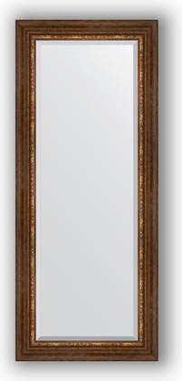 Зеркало с фацетом в багетной раме 61x146см римская бронза 88мм Evoform BY 3543