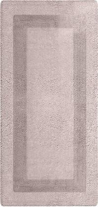 Коврик для ванной комнаты хлопковый 50x120см бежевый Spirella LOUISIANE 4006923